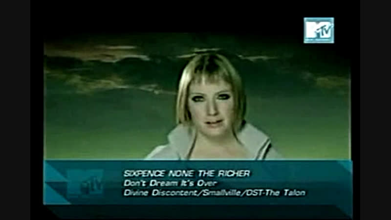 Sixpence none the richer - don't dream it's over mtv asia