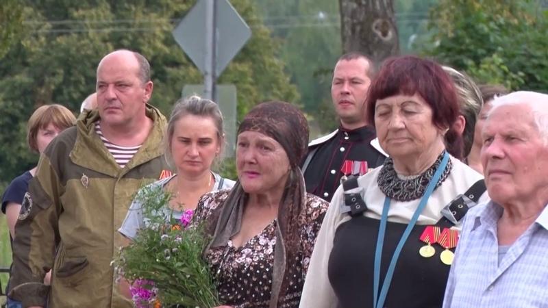 Бойцов, павших в годы Великой Отечественной войны, захоронили в с. Семёновское