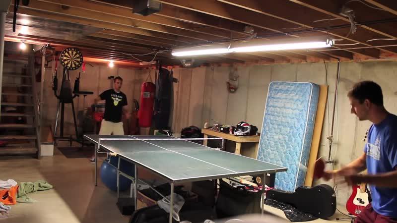 Новак Джокович и Рафаэль Надаль играют в настольный теннис: всем смотреть!