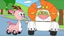 Мультики про машинки Раскраска с Врумиз Сборник 11 Развивающие мультфильмы для детей