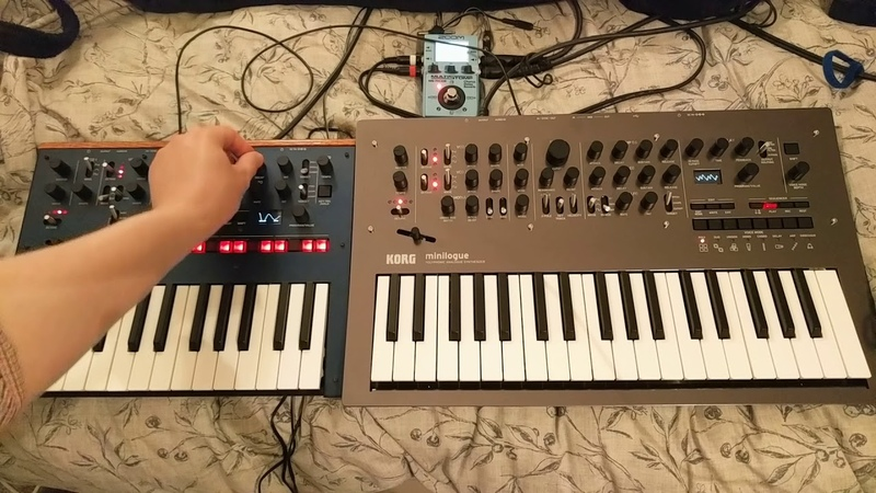Jamuary2019 Day 8 - Korg Monologue and Minilogue
