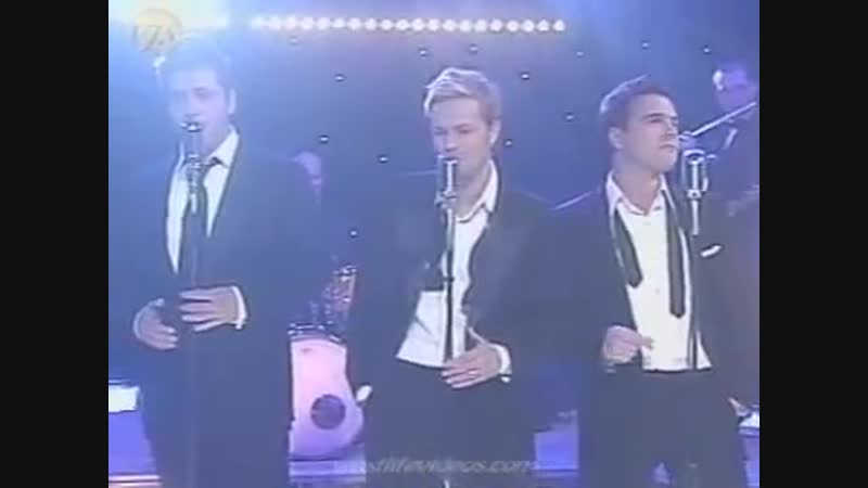 WESTLIFE - Fly me to the moon (Live)