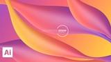 How to Make Liquid Color Gradation Using the Mesh Tool in Adobe Illustrator