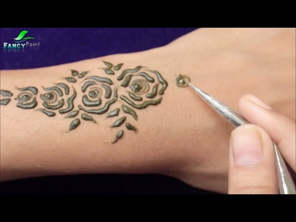 New Unique Style Mehndi Design | WOW Mehndi Design Step by Step | Backhand Mehndi