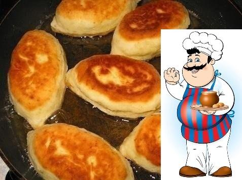 Пирожки на сметанном тесте к ужину