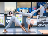 Йога в паре (Acro Yoga). Стас и Ольга