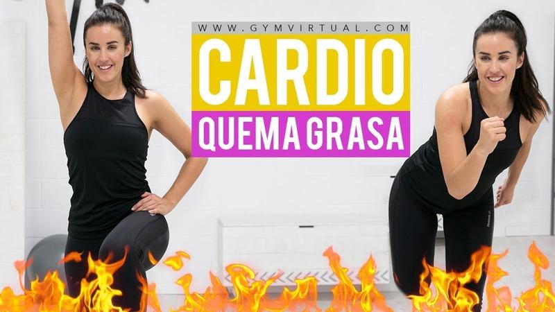 Quemar grasa y eliminar los rollitos | Cardio para adelgazar