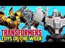 IDW Autobot Megatron, Prime 1 Studio Bumblebee WWI Starscream - TOYS OF THE WEEK Transformers