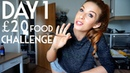 What I eat in a day on a budget VEGAN DAY 1