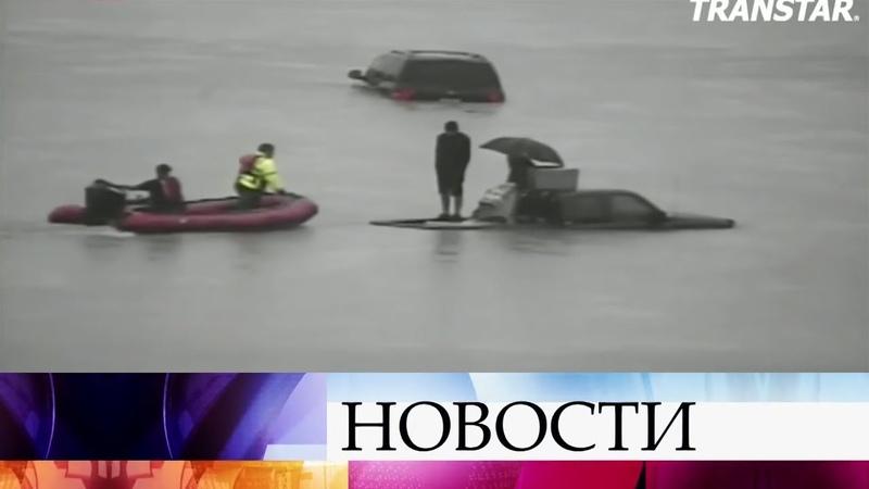 Вамериканском Техасе растет число жертв катастрофического наводнения вызванного ураганом Харви