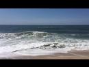 Северный пляж, Nazaré, Португалия. Волны.