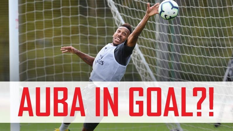 🤔 Aubameyang in goal Plus Mkhitaryan's free kick madness Behind the scenes