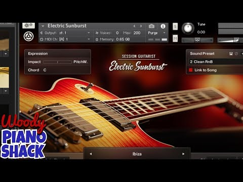 Playing the SESSION GUITARIST - ELECTRIC SUNBURST