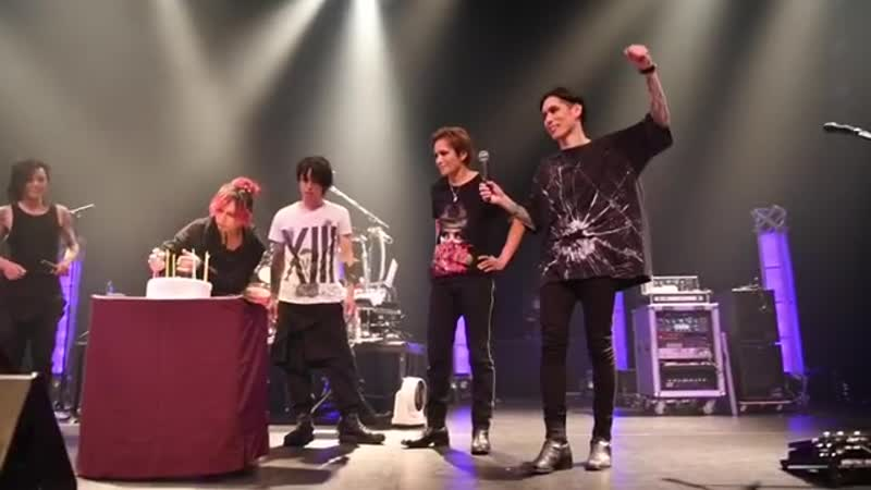 Lynch. 葉月 - REO SURPRISE 04.11.2018 @Tokyo, TOKYO DOME CITY HALL / TOUR'18 「Xlll -THE BEAUTIFUL NIGHTMARES-」 TOUR FINAL