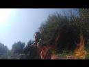 Психофизический Комплекс красивая Сьемка после восхода солнца через призму огня