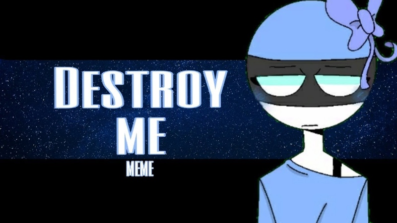 Destroy me - animation meme [countryhumans|EstoniaЭстония](flipaclip)