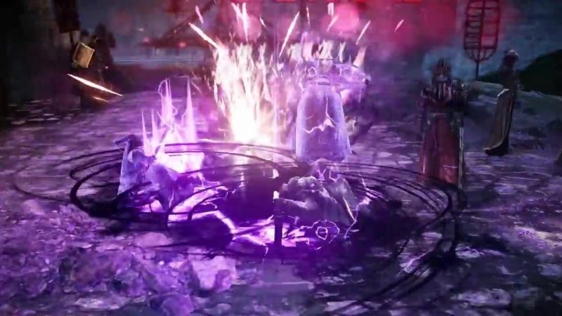 검은사막 모바일 캐릭터 소개 - 소서러 (Black Desert Mobile - Sorceress).mp4
