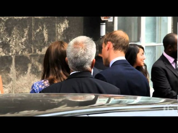 Kate Middleoton and Prince William at Maison Dauphine in Quebec city