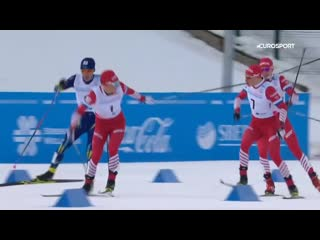 Русские лыжники не только не знают про командную тактику, но и вредят друг другу