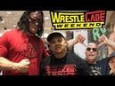 WRESTLECADE 2018 SUPERSHOW / FANFEST DELZ VLOG! SUPERSTARS FROM WWE,ECW ,IMPACT,NJPW MORE! DAY 2