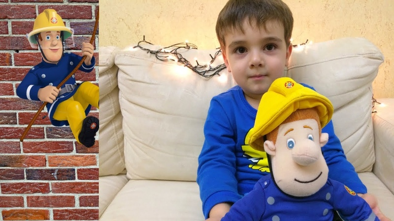 Развивающее видео для детей Пожарный Сэм тушит пожар Fireman Sam Kids for video