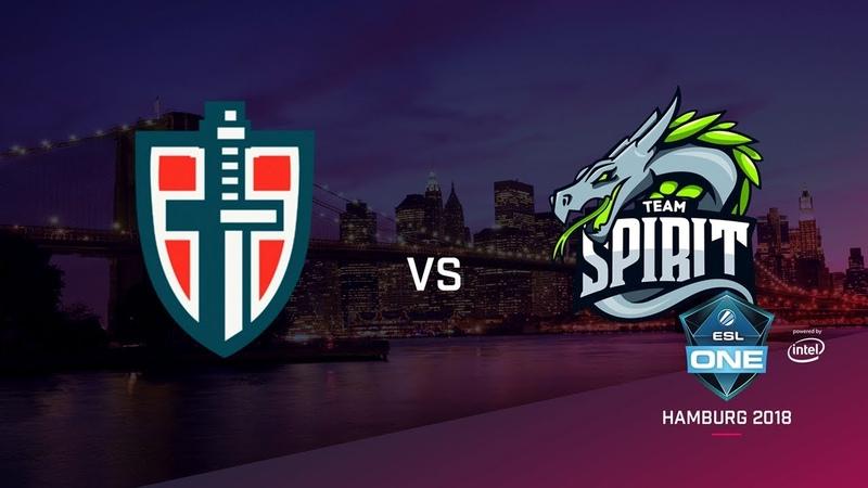 Team Spirit vs Espada, ESL Closed Quals EU, bo3, game 2 [Maelstorm Jam]