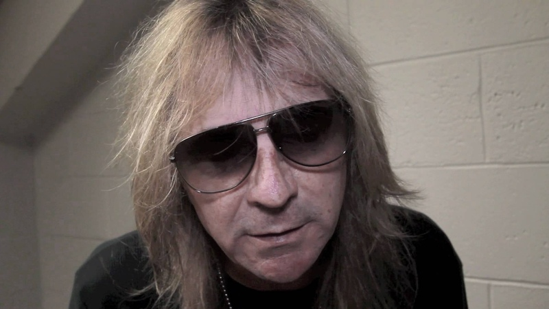 Glenn Tipton of JUDAS PRIEST talks about his ROCK SCENE