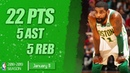 Kyrie Irving Full Mix Highlights | 22 PTS, 5 AST, 5 REB | BOS vs MIA | 11.01.2019 | MH