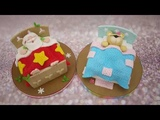 How To Make A Sleeping Santa Cake with Cake Decorating TV
