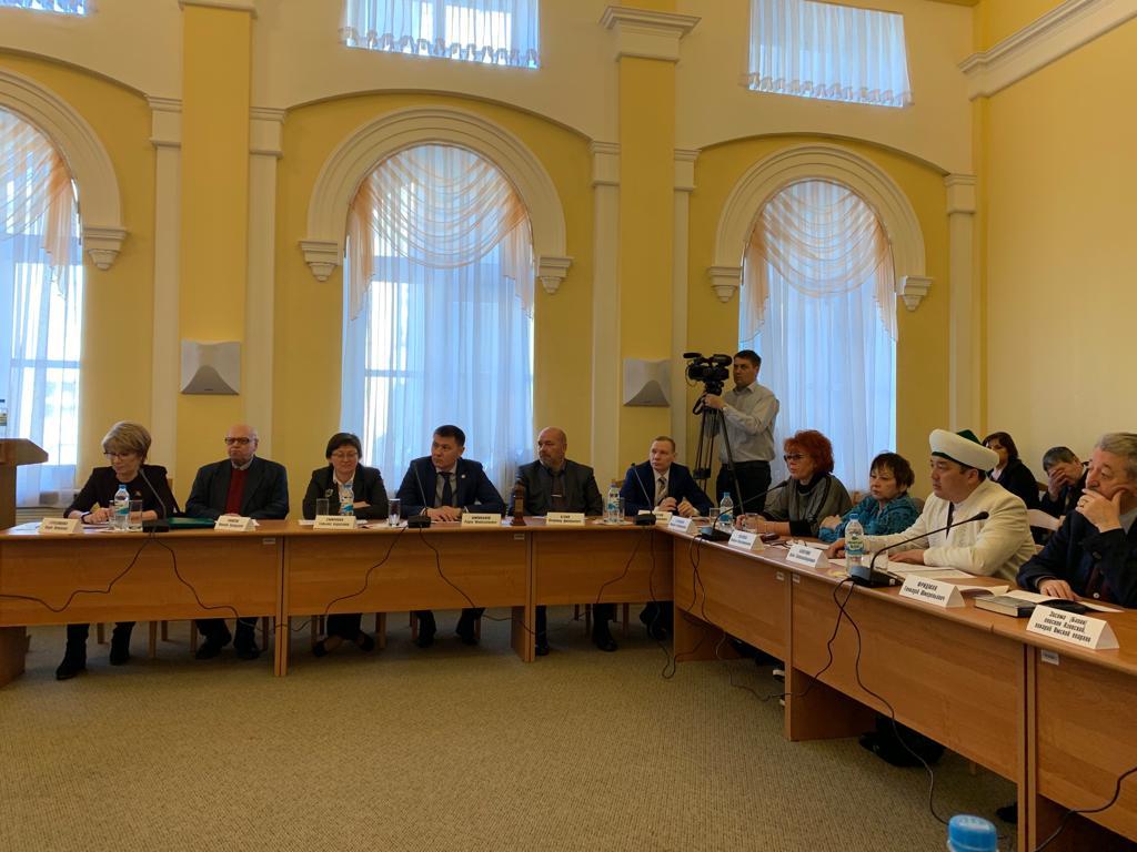 заседание Консультативного совета по межнациональным и межконфессиональным отношениям при Губернаторе Омской области