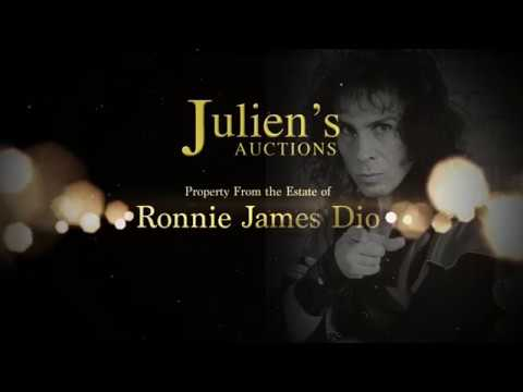Julien's Auctions Property from the Estate of Ronnie Dio Black Sabbath Robe