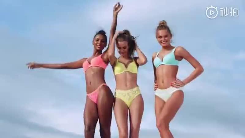 Жозефин в рекламном ролике Victoria's Secret 'Perfect Shape'