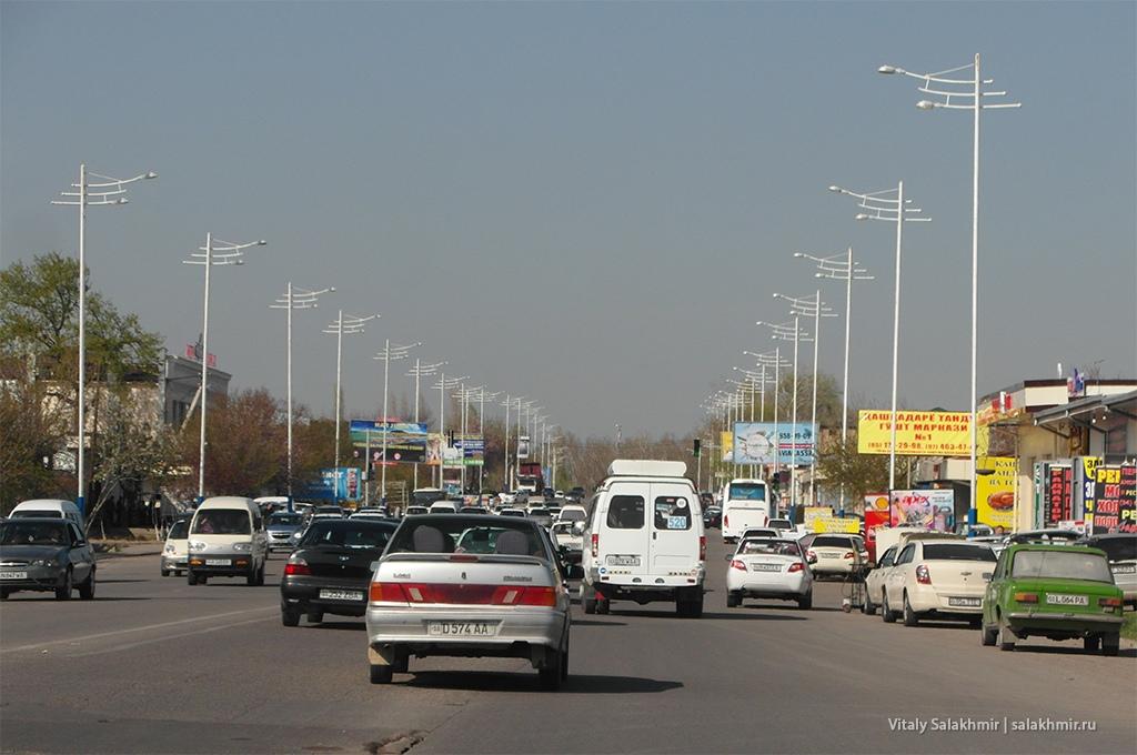 Проспект Амира Темура, Ташкент, Узбекистан 2019