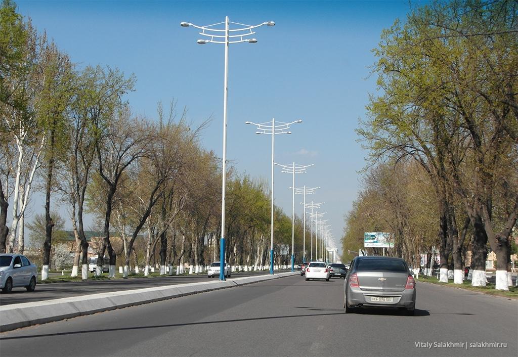 Проспект Бунедкор, Узбекистан, Ташкент 2019