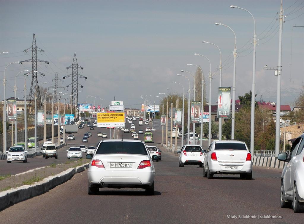 Трасса, Ташкент, Узбекистан 2019