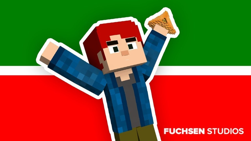 ТАТАРСТАН СУПЕР ГУД | Minecraft Animation | FUCHSEN