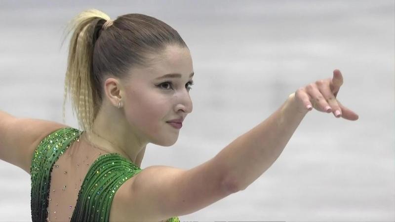 Мария Сотскова Короткая программа NHK Trophy Гран при по фигурному катанию сезона 2018 19