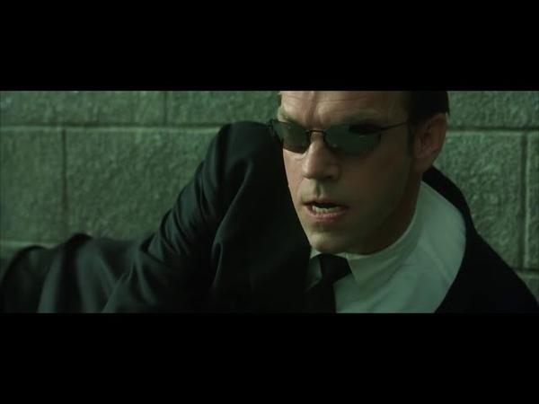 Нео против агентов Смитов часть 2 Матрица Перезагрузка