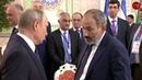 Əliyev Putinin qarşısında necədir, Paşinyan necə?