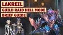 King's Raid Guild Raid Lakreil Hell Mode Showcase Brief Guide