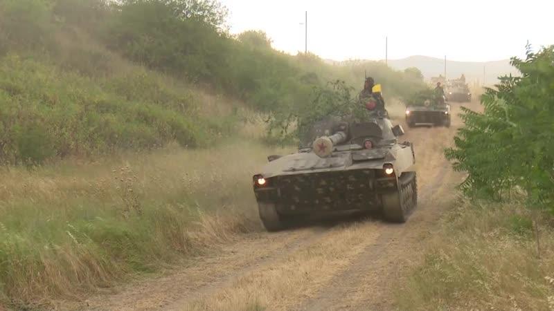 В Армии обороны Арцаха продолжаются военные учения