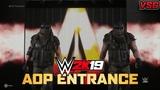WWE 2K19 AOP Tag Team Entrance