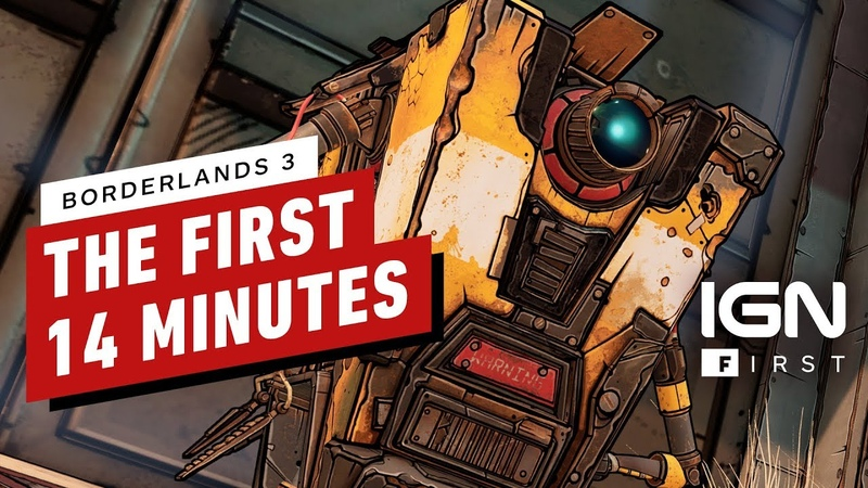 The First 14 Minutes of Borderlands 3 IGN First