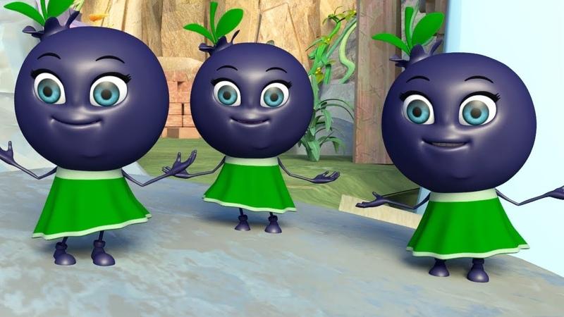 Лучшие детские песни Ягодки сестрички Развивающий мультик