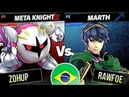 Marth [Foe] vs Meta Knight [Zohup] · Super Smash Bros. Ultimate Gameplay Tournament 【スマブラSP】