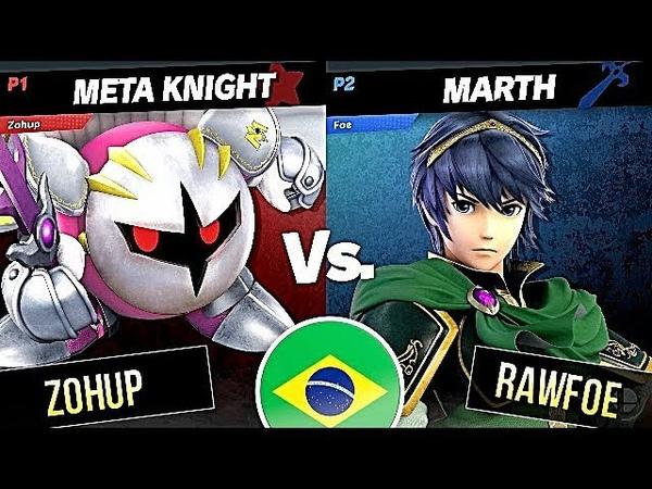 Marth [Foe] vs Meta Knight [Zohup] · Super Smash Bros. Ultimate Gameplay Tournament 【スマブラSP】