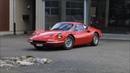 Ferrari Dino 246 GT on the road