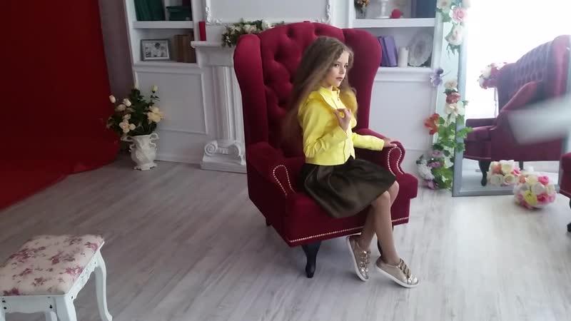 Съемка моделек детского курса Школы 2018