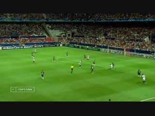 81 CL-2010/2011 Sevilla FC - Sporting Braga 3:4 (24.08.2010) HL