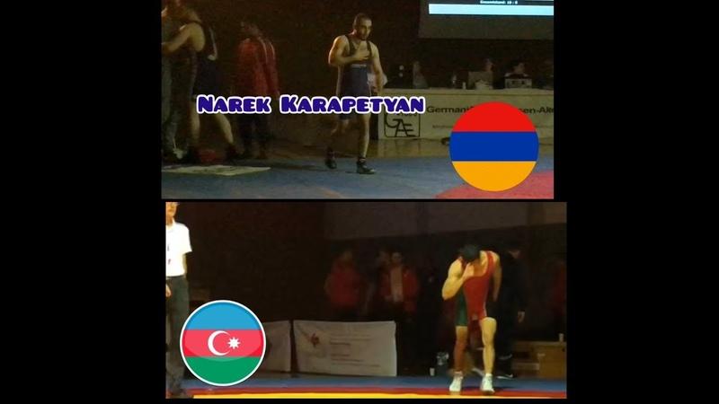 Հայ մարզիկը ջախջախում է Ադրբեջանցուն(Germany liga) /Narek Karape